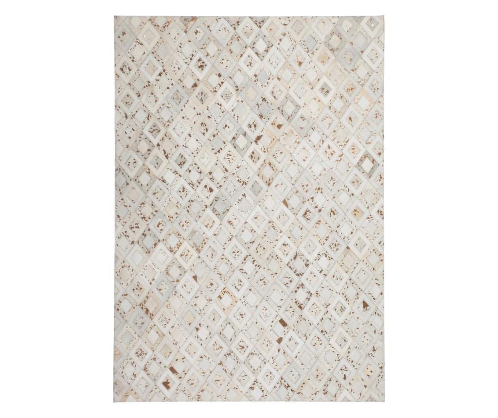 Covor Dazzle Ivory Chrom 80x150 cm - Kayoom, Crem imagine