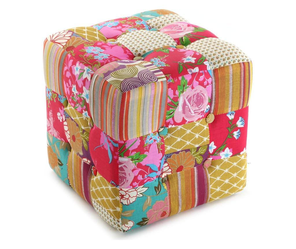 Taburet Floral Fantasy Cube - Versa, Roz