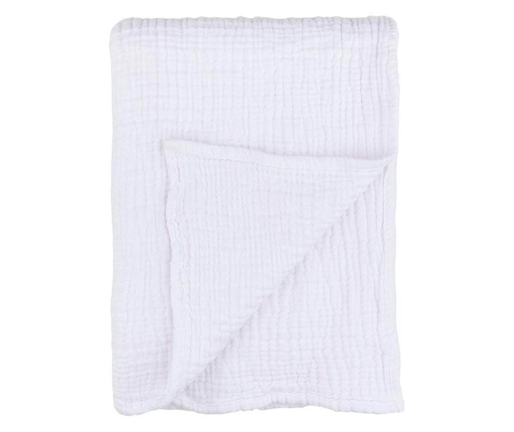 Patura Baby White 90x120 cm