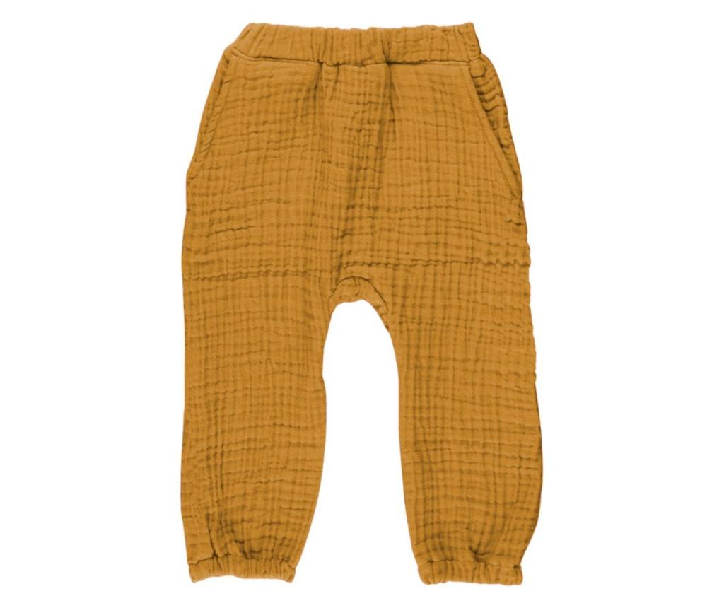 Pantaloni copii Cocoon Curry 24-36 months