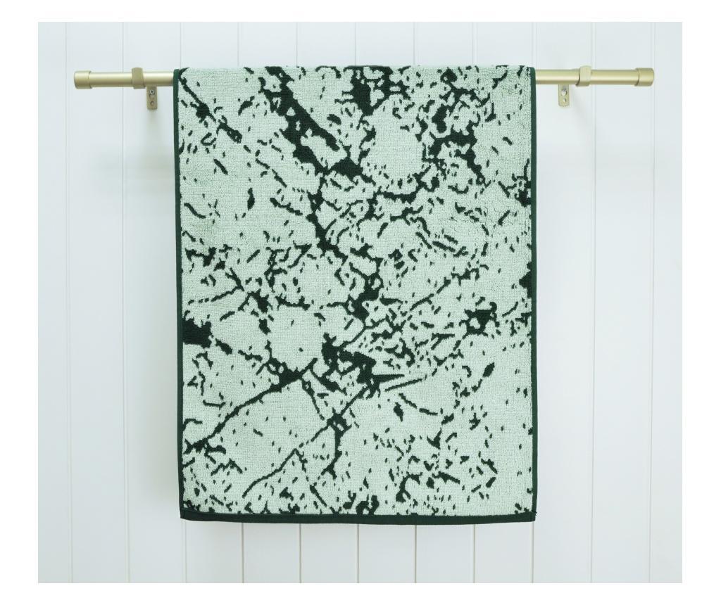 Prosop de baie Marble Green 70x140 cm imagine