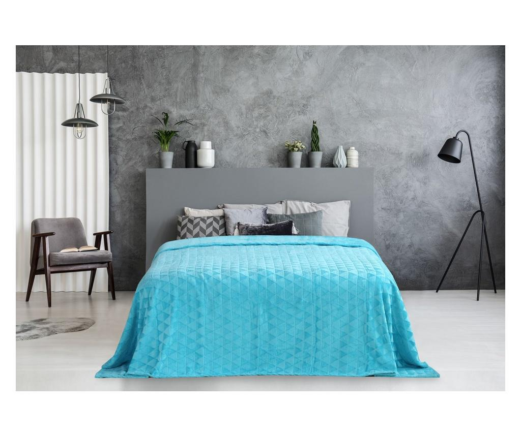 Patura Clyde Turquoise 150x200 cm imagine
