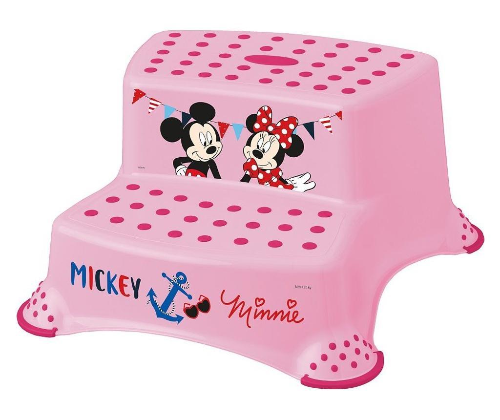 Inaltator dublu pentru copii Pink - PLASTIMYR, Roz imagine