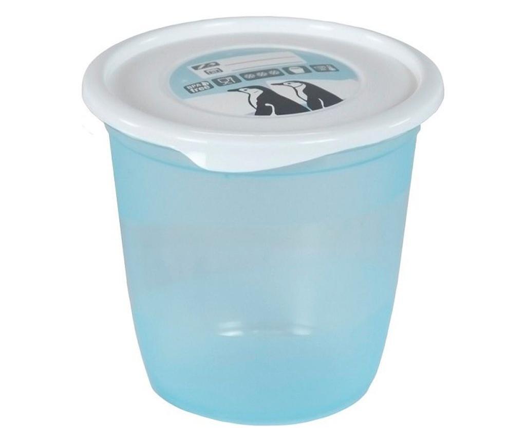 Set 6 cutii pentru depozitare Blue - PLASTIMYR, Albastru