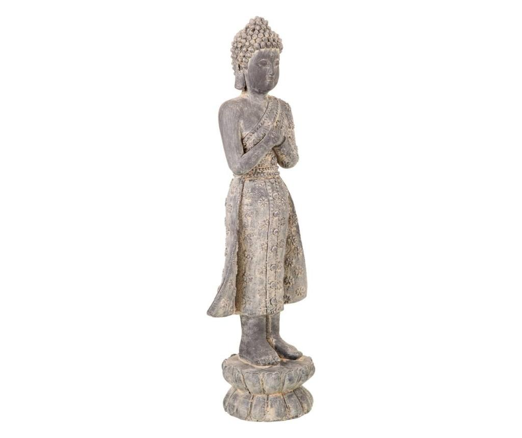 Decoratiune Buddha - Creaciones Meng, Gri & Argintiu imagine