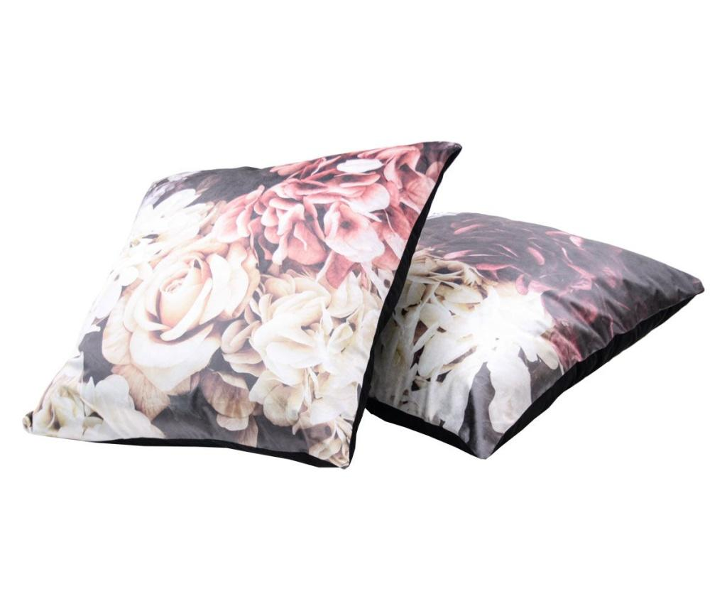 Set 2 perne decorative 60x60 cm - Innovaliving, Roz imagine
