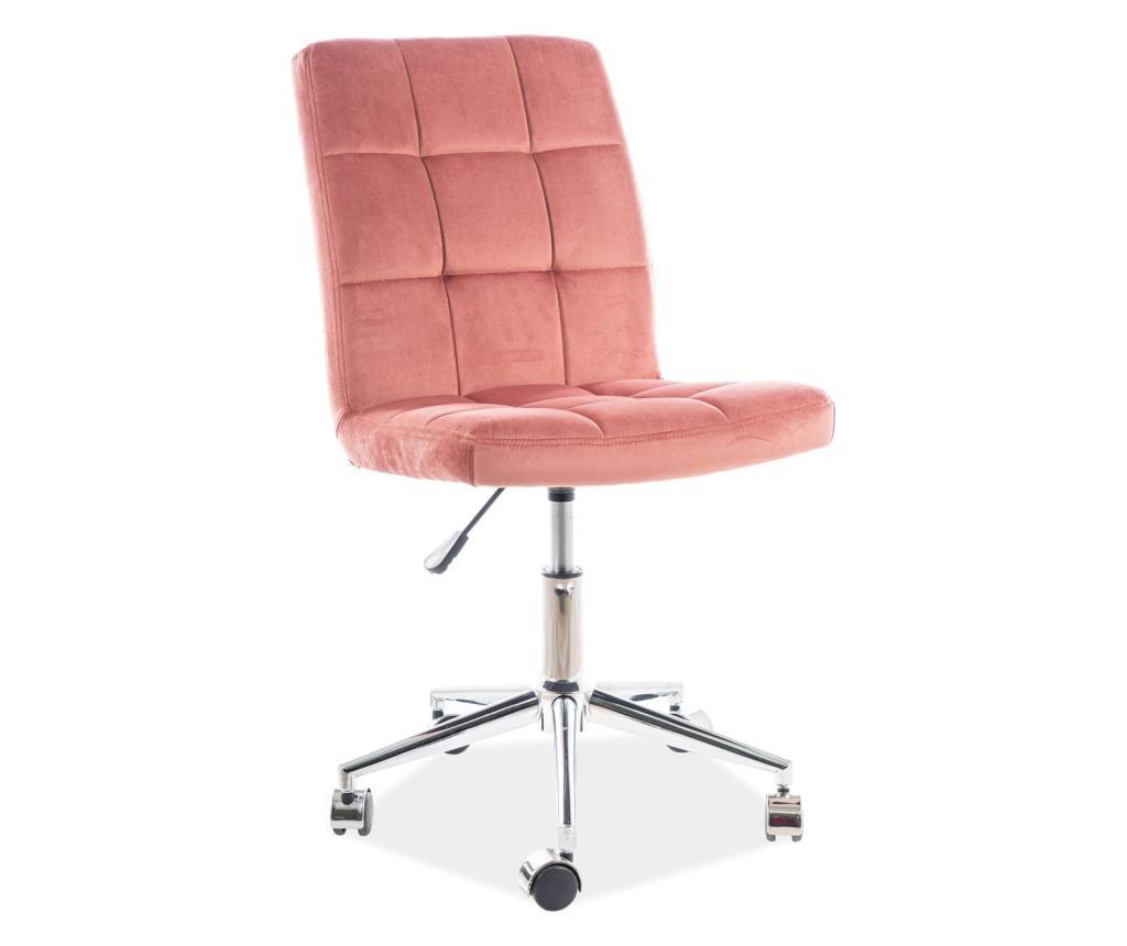 Scaun de birou Day Pink imagine