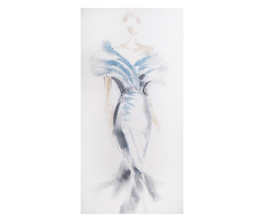 Tablou 60x120 cm - Eurofirany, Albastru poza