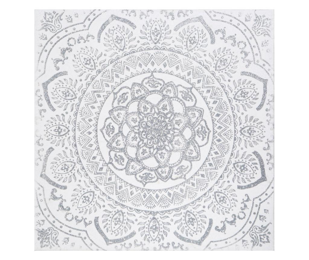 Tablou 60x60 cm - Eurofirany, Gri & Argintiu imagine