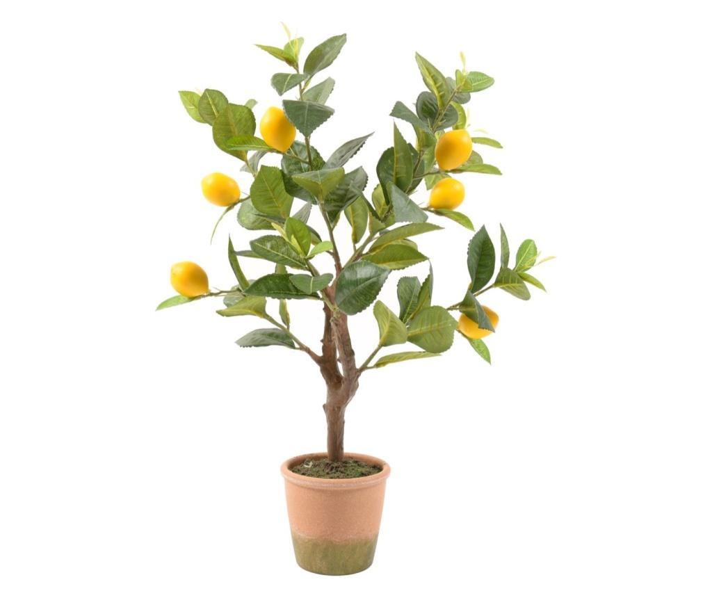 Planta artificiala in ghiveci Lemon
