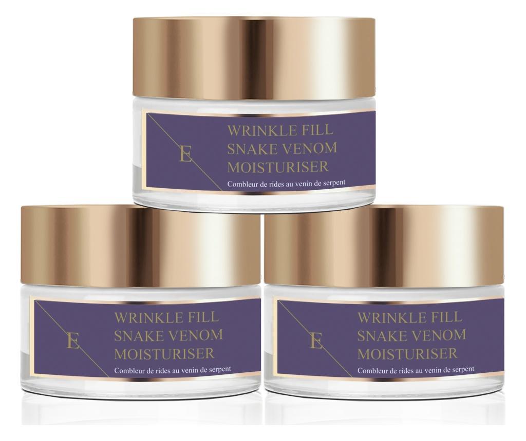 Set 3 creme anti-rid pentru fata Snake Venom Moisturiser 50 ml imagine