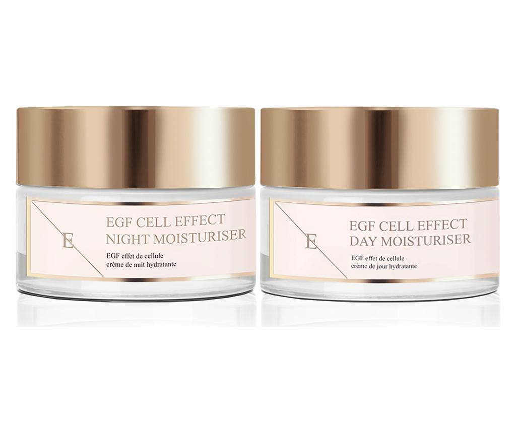 Sada 2 výrobkov na ošetrenie tváre EGF Cell Effect 50 ml.