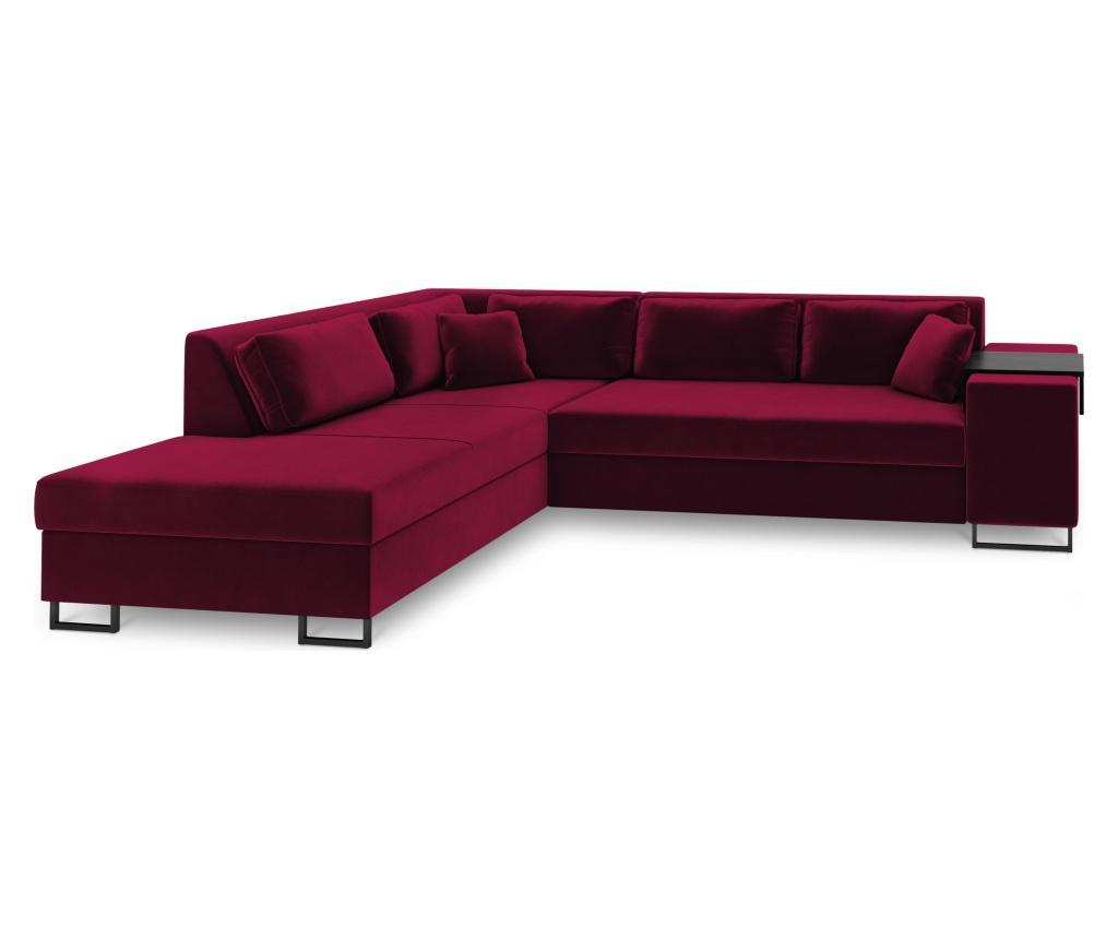 Coltar extensibil stanga York Red - COSMOPOLITAN Design