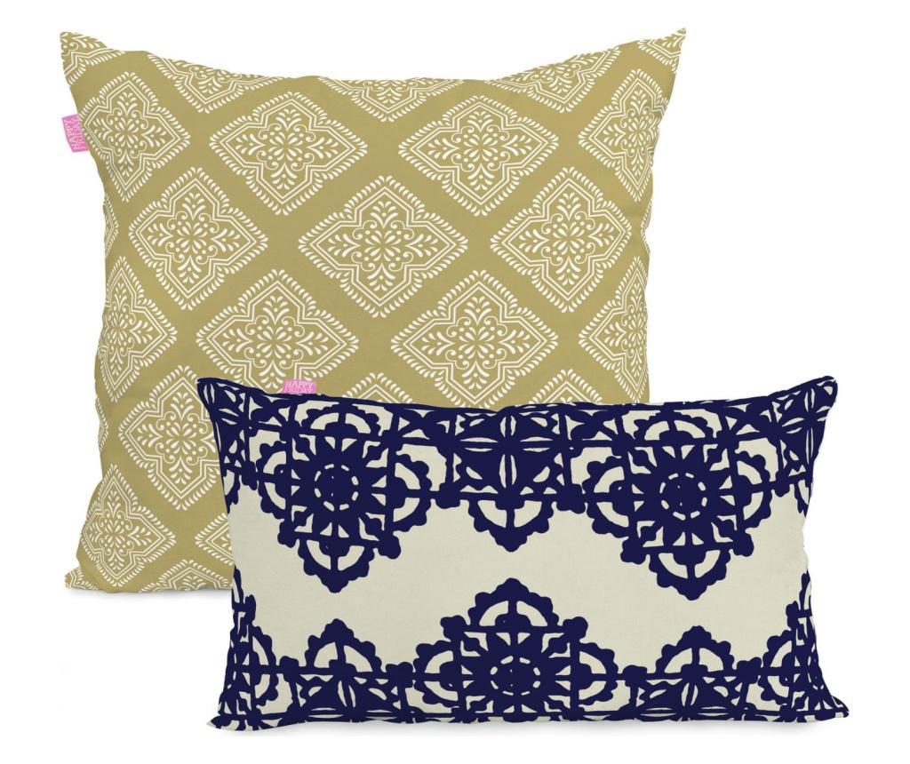 Set 2 fete de perna Embroidery Duo Contrast imagine
