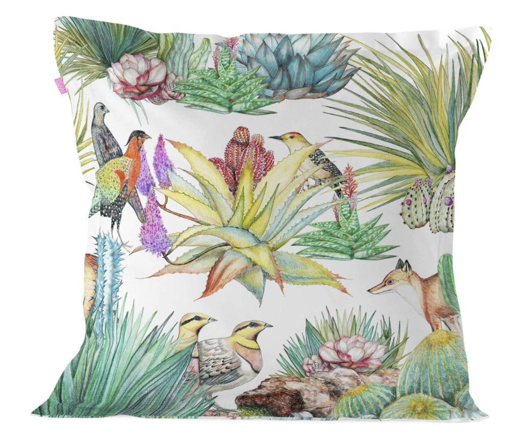 Fata de perna Cactus 60x60 cm - Happy Friday, Multicolor imagine