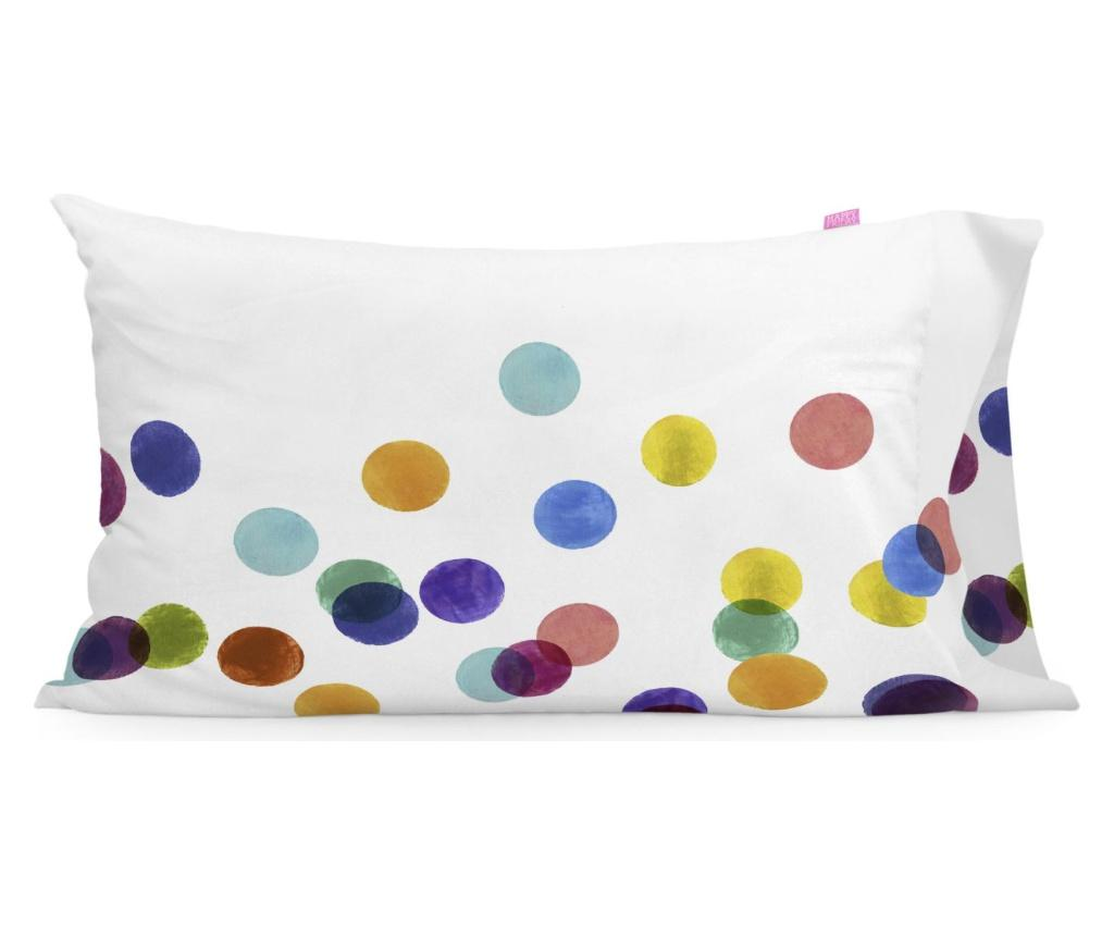 Set 2 fete de perna Confetti 50x75 cm - Happy Friday, Multicolor