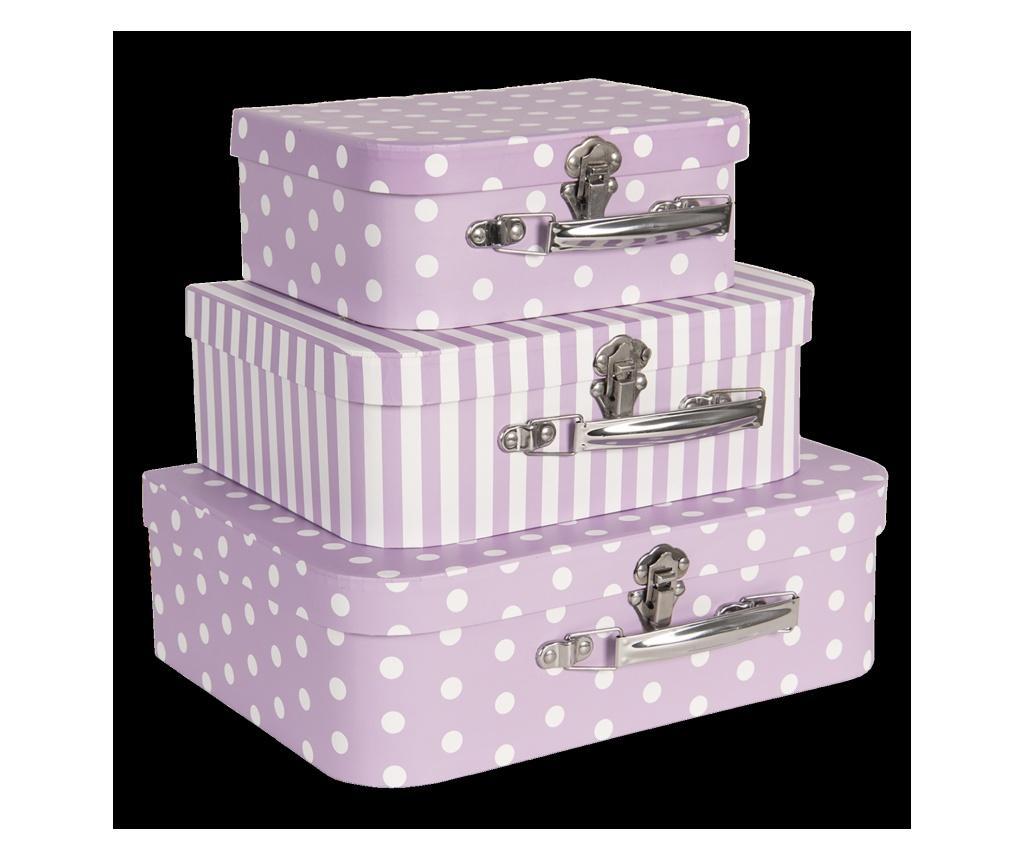 Set 3 valize decorative imagine