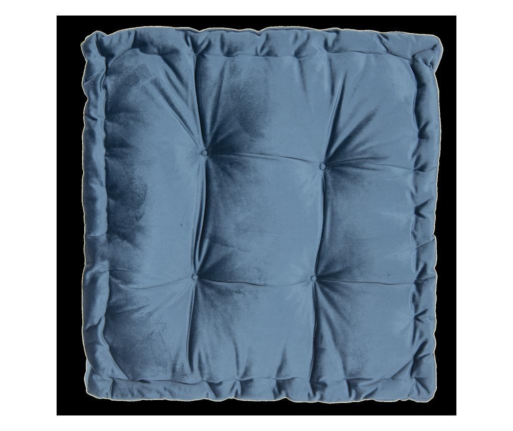 Perna de sezut 45x45 cm - Clayre & Eef, Albastru imagine