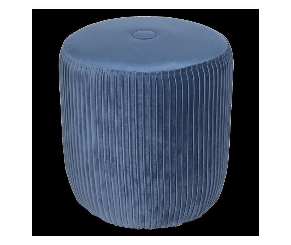 Scaunel pentru picioare - Clayre & Eef, Albastru imagine