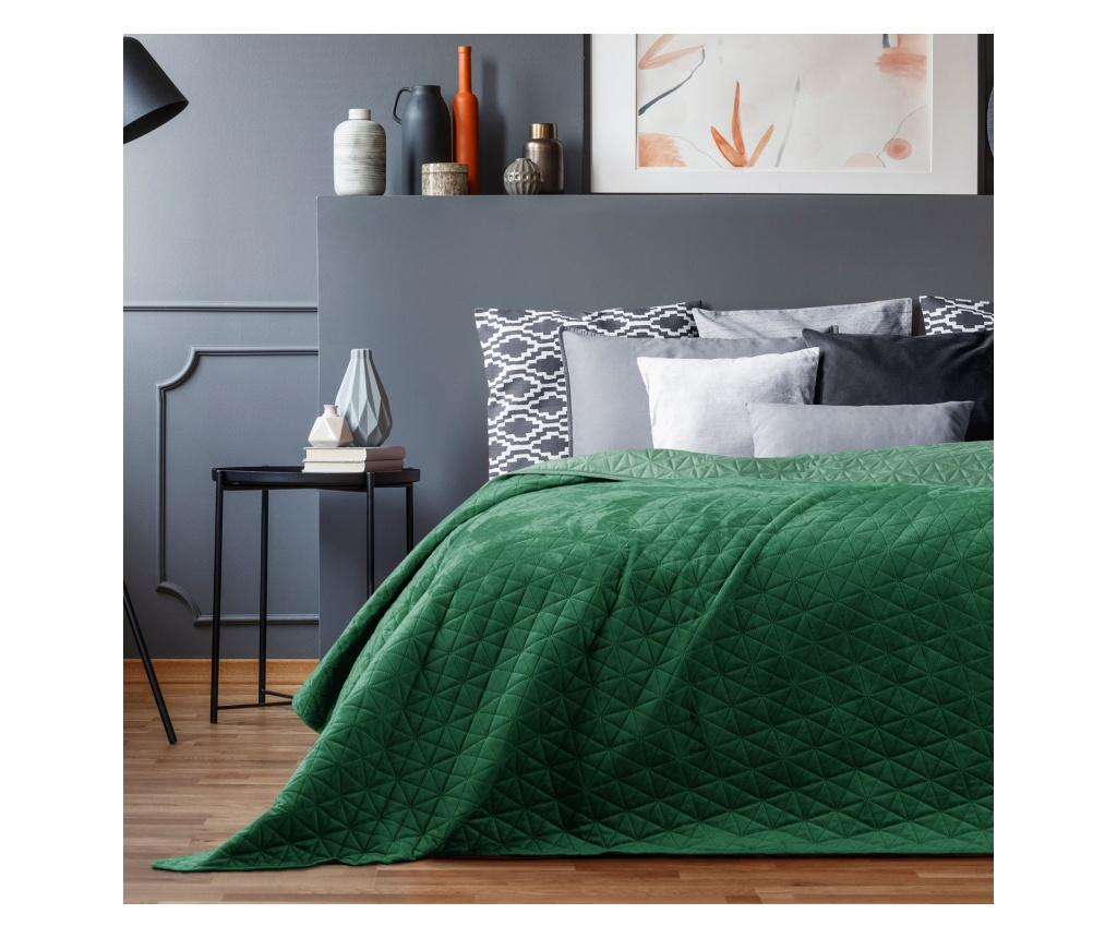 Cuvertura matlasata Laila Jade Green 240x260 cm - AmeliaHome, Verde imagine