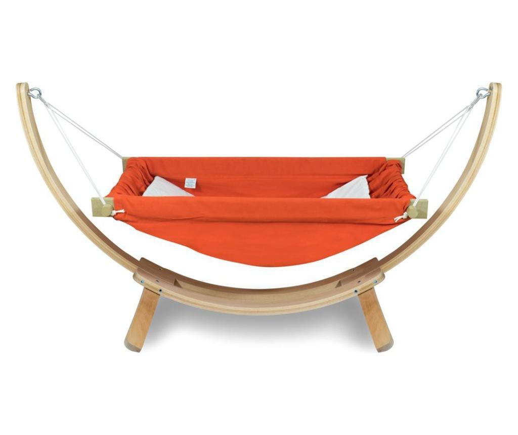 Hamac pentru copii cu suport Bliss Orange imagine