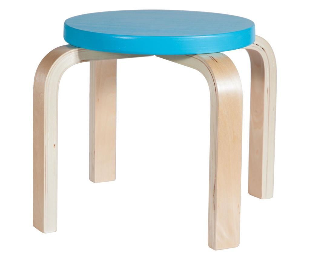 Scaunel pentru copii - Creaciones Meng, Albastru imagine