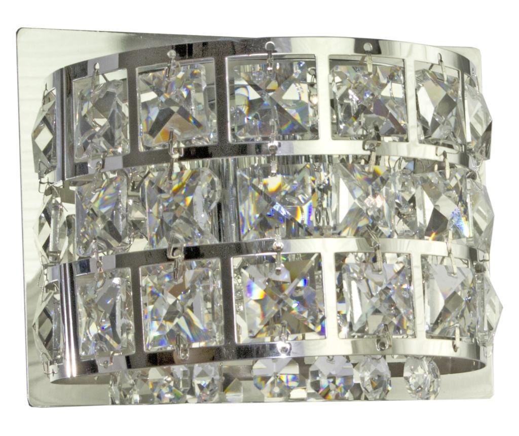 Aplica de perete Saturn - Candellux Lighting, Gri & Argintiu vivre.ro