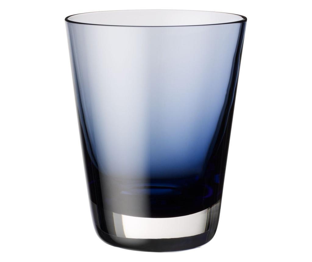 Set 4 pahare Colour Concept Midnight Blue - Villeroy & Boch, Albastru poza