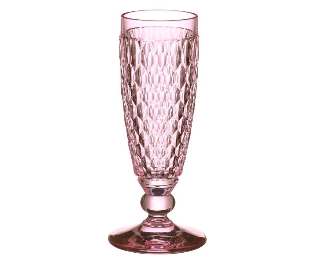 Set 4 pahare pentru sampanie Boston Coloured Rose - Villeroy & Boch, Roz poza