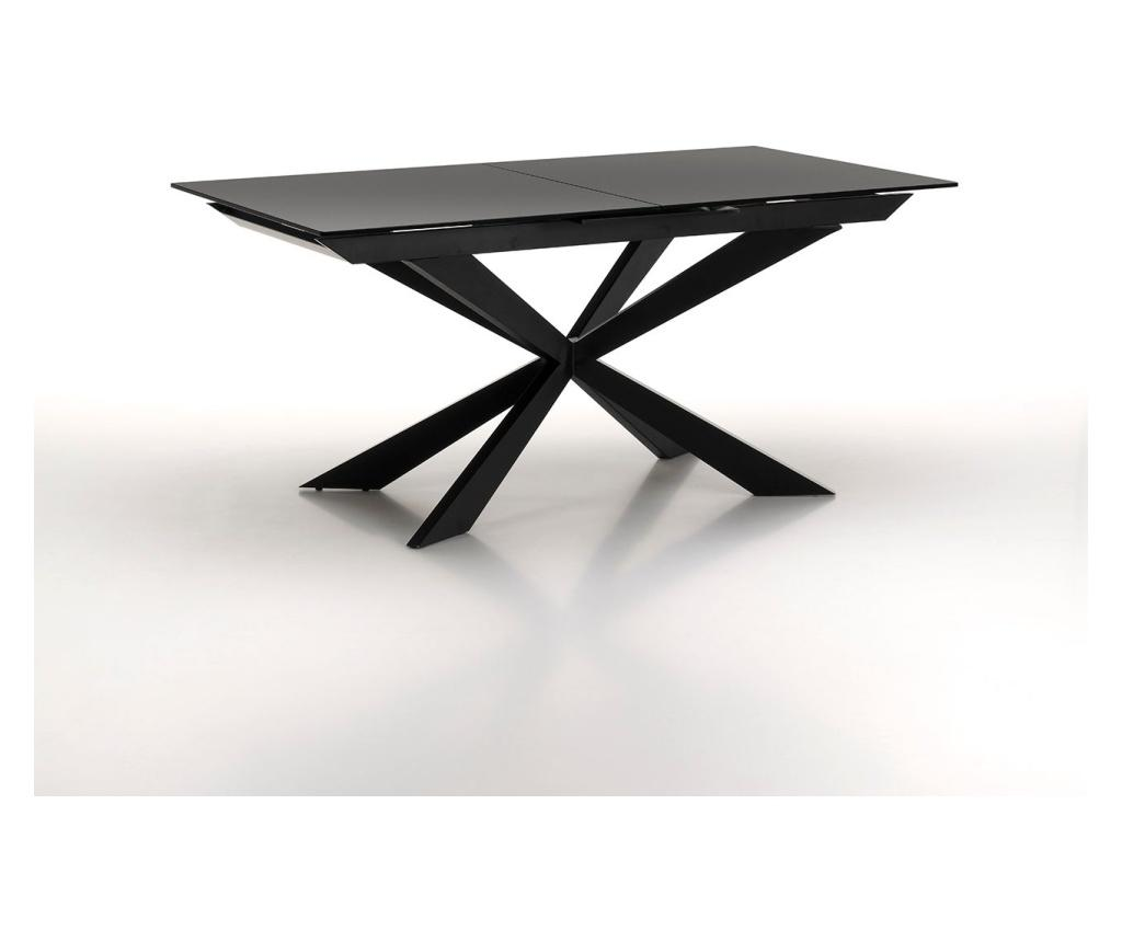 Masa extensibila - TFT Home Furniture, Negru imagine