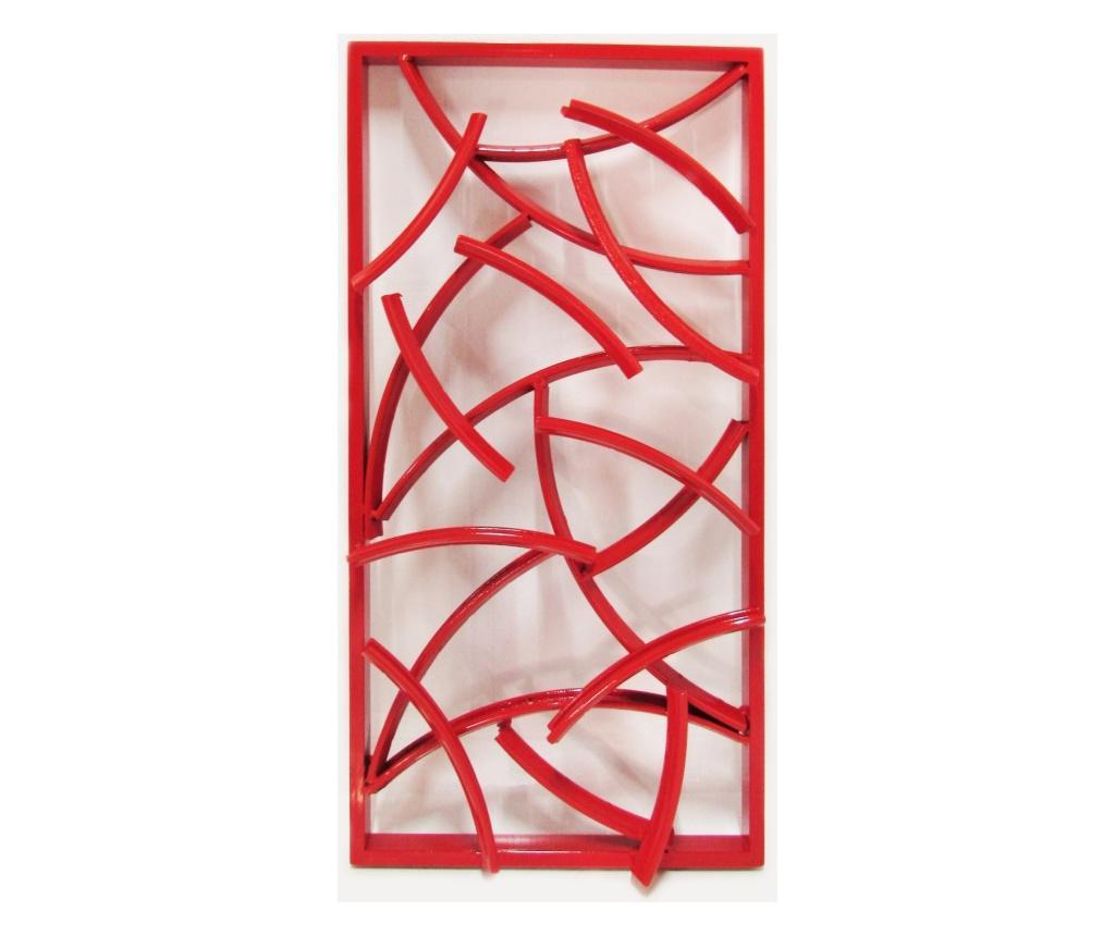 Decoratiune de perete - SIT Möbel, Rosu imagine