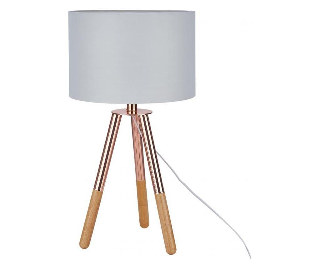 Lampa de masa - SIT Möbel, Gri & Argintiu imagine