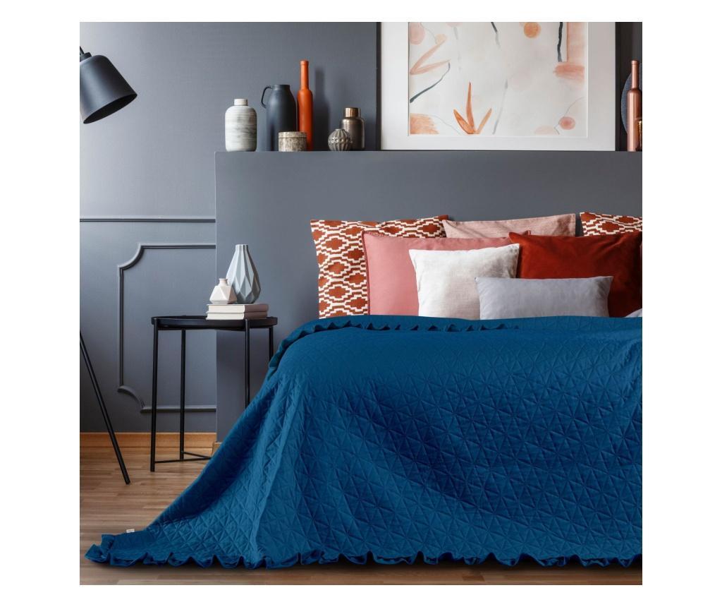 Cuvertura matlasata Tilia Blue 260x280 cm - AmeliaHome, Albastru imagine