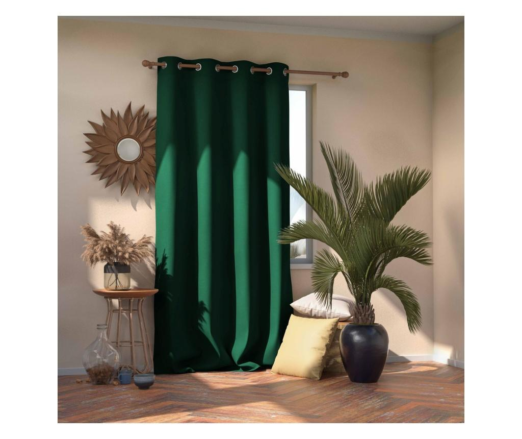 Draperie Blackout Dark Green 140x270 cm imagine
