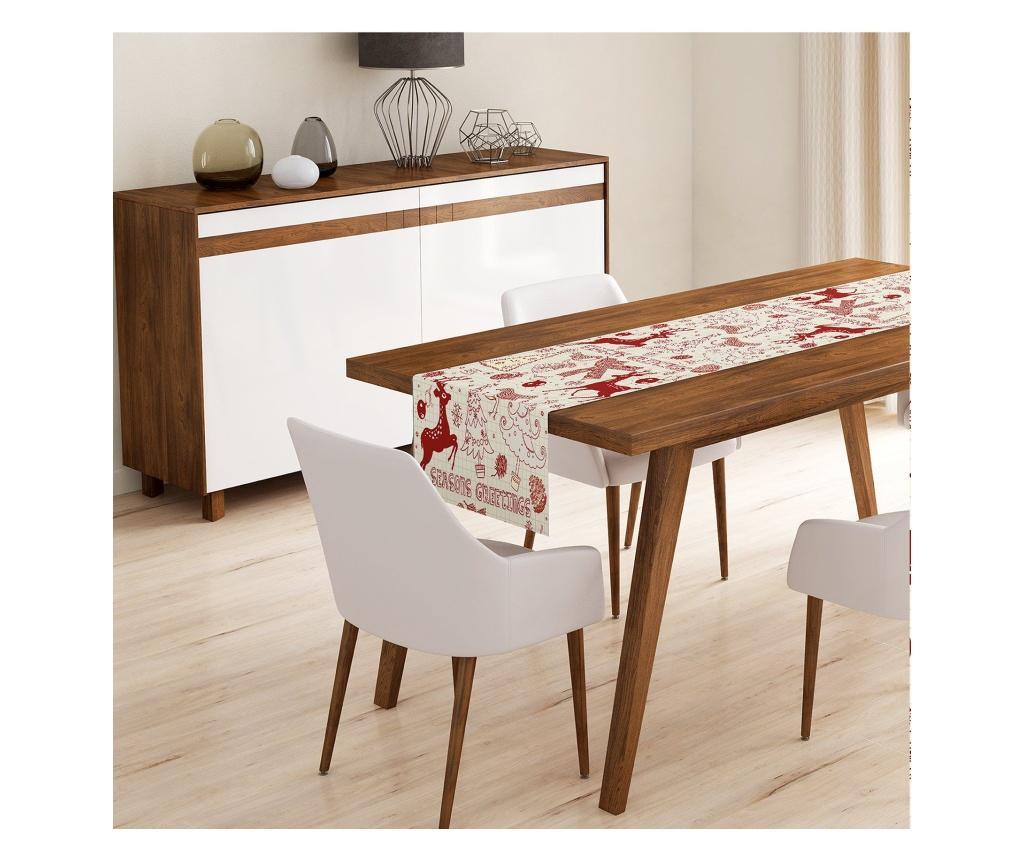 Traversa de masa Minimalist Tablecloths 45x140 cm - Minimalist Home World, Multicolor de la Minimalist Home World