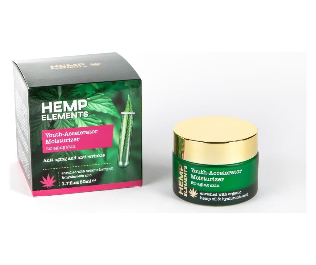 Crema hidratanta Hemp Elements Youth 50 ml - HEMP ROSE vivre.ro