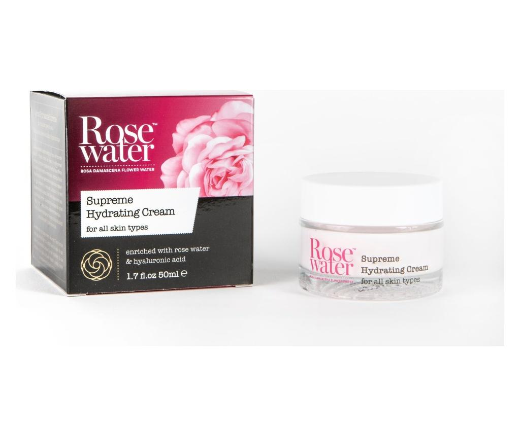 Crema hidratanta Rose Water Supreme 50 ml - HEMP ROSE
