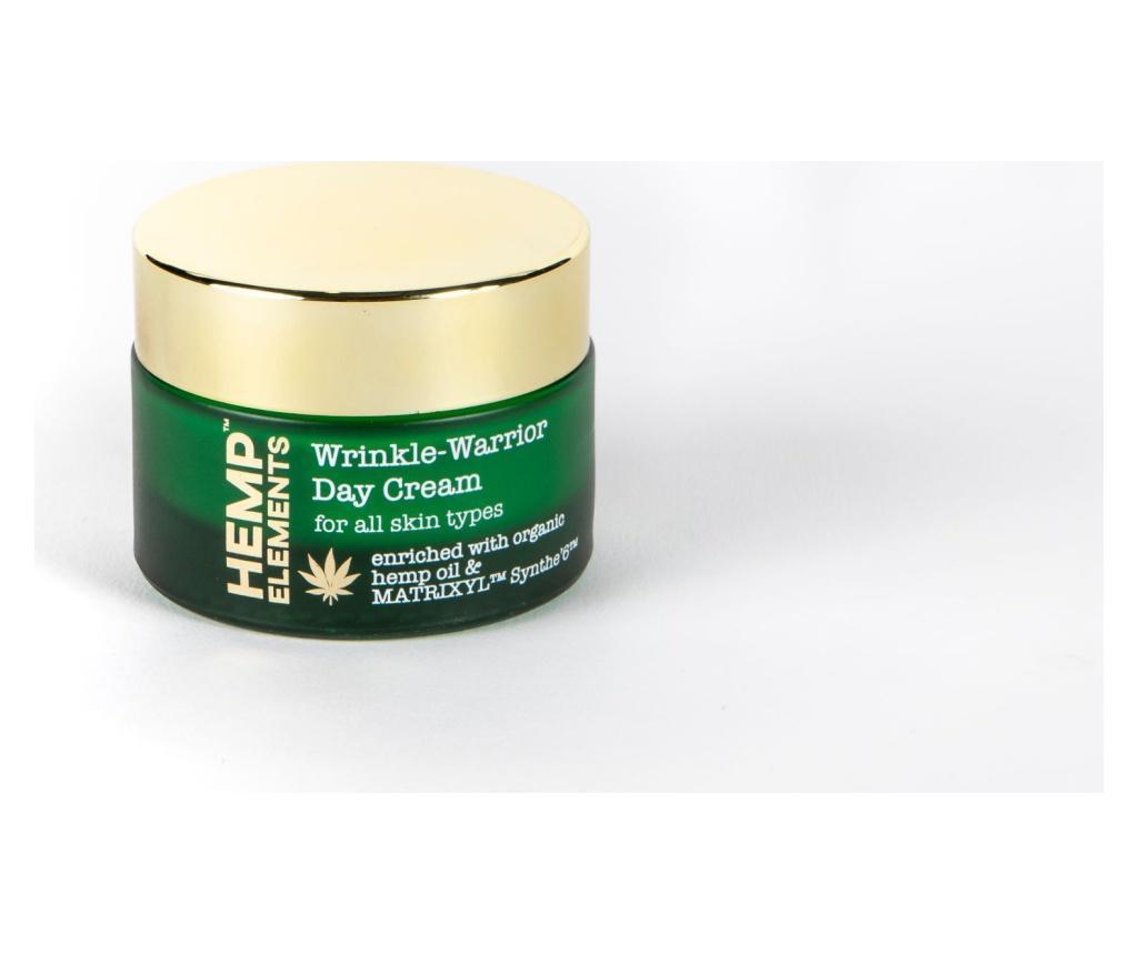 Crema de zi Hemp Elements Wrinkle Warrior 50 ml imagine
