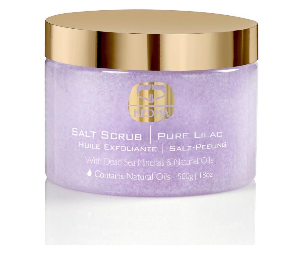 Scrub cu sare Pure Lilac 500 ml - KEDEM poza