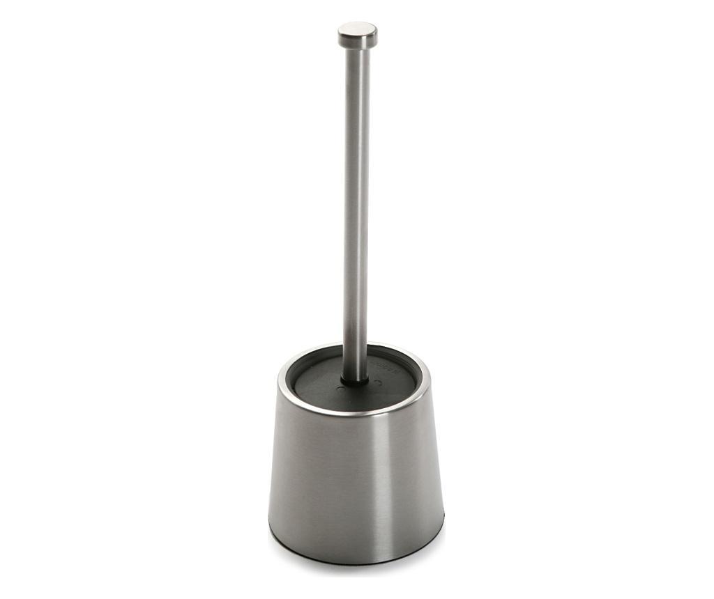 Perie de toaleta - Versa, Gri & Argintiu poza