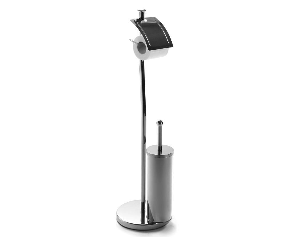 Perie de toaleta - Versa, Gri & Argintiu imagine