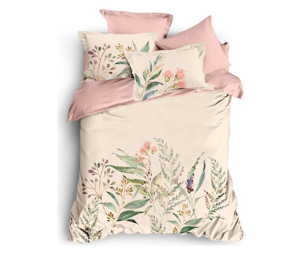 Lenjerie de pat Double Ranforce Holly - The Club Cotton, Multicolor imagine