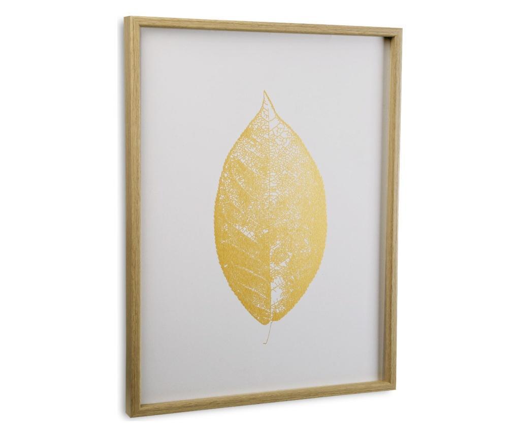 Tablou 45x60 cm - Versa, Alb imagine