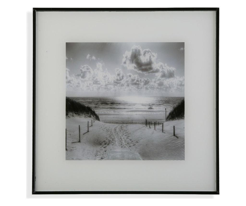 Tablou 30x30 cm - Versa, Negru poza
