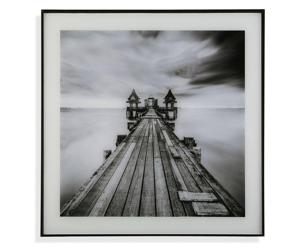 Tablou 50x50 cm - Versa, Negru imagine vivre.ro