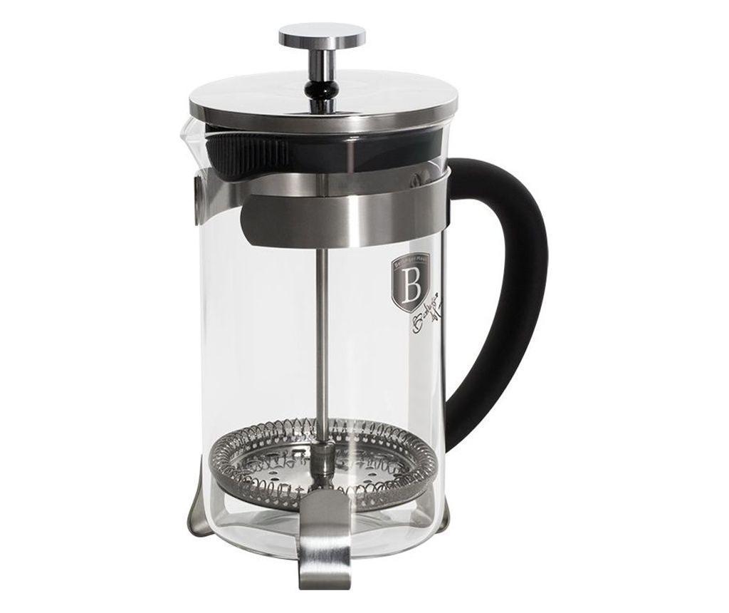 Cana cu presa pentru cafea si ceai Black Royal imagine