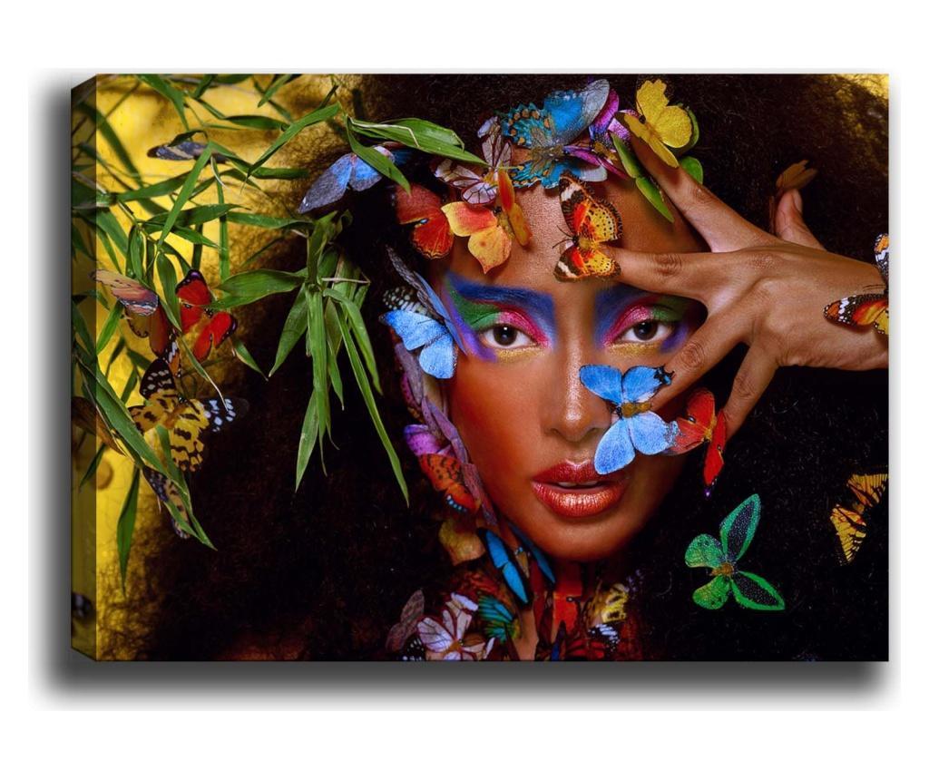 Tablou Iruputuncu 100x140 cm - TABLOCENTER, Multicolor imagine