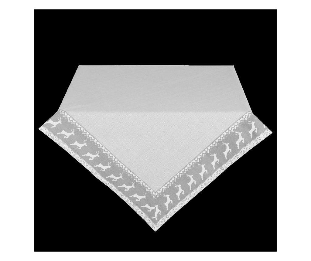 Fata de masa 130x180 cm - Clayre & Eef, Gri & Argintiu imagine