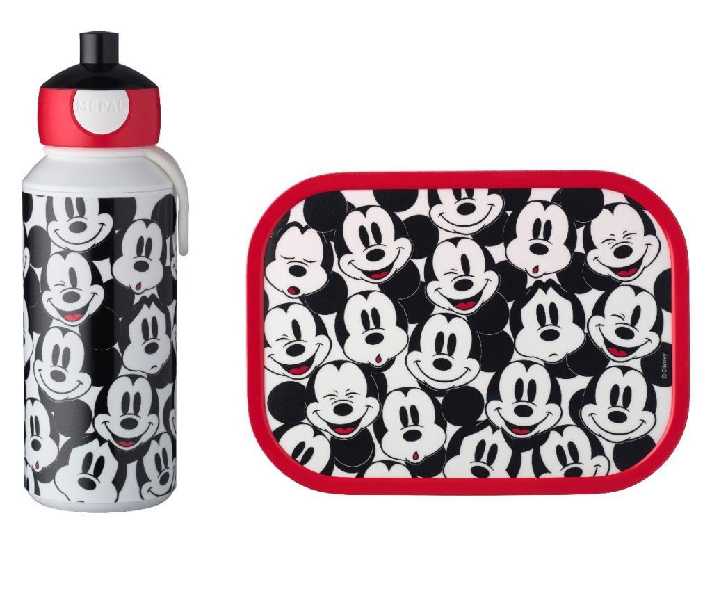 Set sticla si cutie de pranz Campus Mickey Mouse - Mepal, Multicolor poza