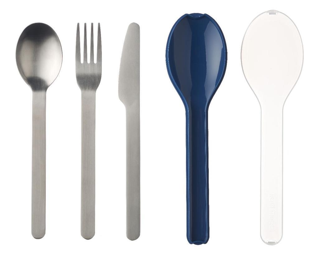 Set tacamuri 3 piese Ellipse - Mepal, Albastru imagine